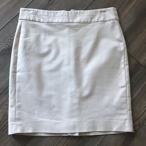 Banana Republic Khaki Skirt Size 4P